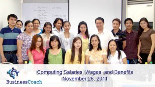 computing salaries, wages and benefits 2