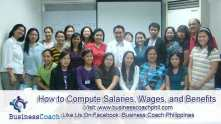 How to Compute Salaries, Wages, and Benefits (1)