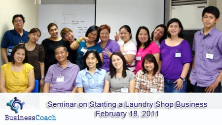 starting a laundry shop business