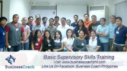 Basic Supervisory Skills Training (3)