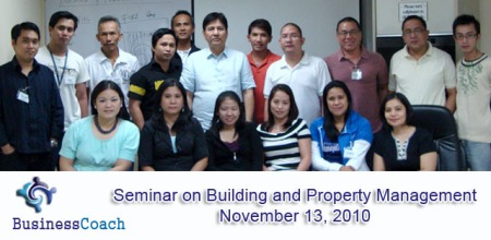 building and property management seminar