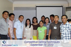 competitive selling techniques