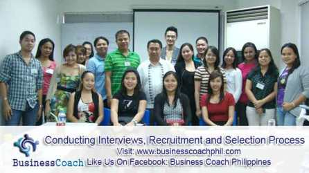Conducting Interviews, Recruitment and Selection Process (3)