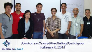 seminar on competitive selling techniques
