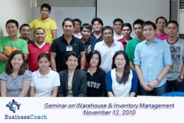 seminar on warehouse and inventory management