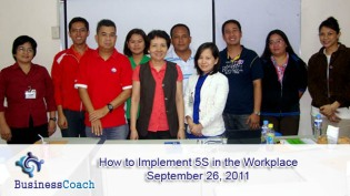 implement 5S in the workplace
