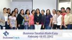 business taxation seminar