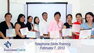 telephone skills training