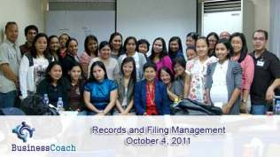 records and filing management