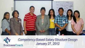 Competency Based Salary Structure Design
