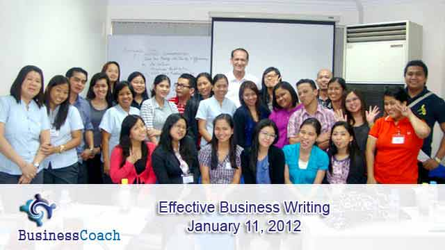 Effective business writing courses