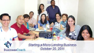 how to set up and manage a micro lending business seminar_