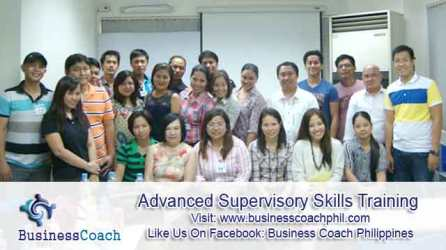 Advanced Supervisory Skills Training (3)