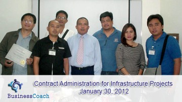 Contract Administration for Infrastructure Projects