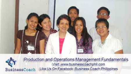 Production and Operations Management Fundamentals (1)