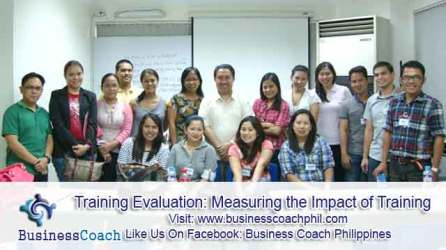 Training Evaluation- Measuring the Impact of Training (3)