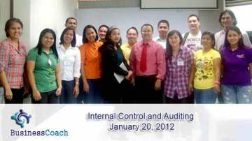 internal control and auditing
