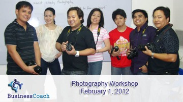 digital photography workshop